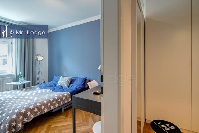 kompletteinrichtung f r m bliertes vermieten modern schlafzimmer m nchen von bettina. Black Bedroom Furniture Sets. Home Design Ideas