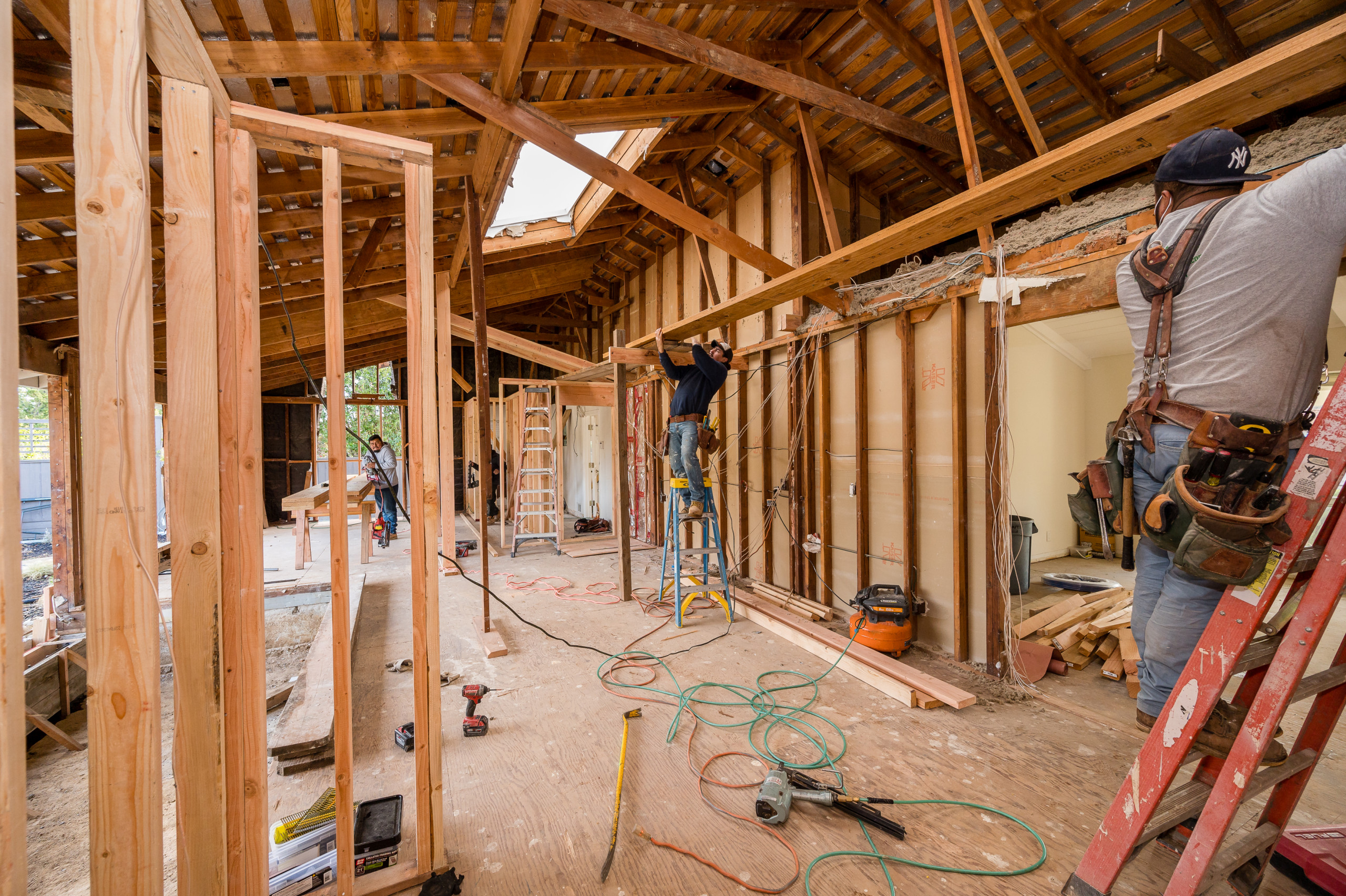 DURING CONSTRUCTION - Home Remodel Saratoga