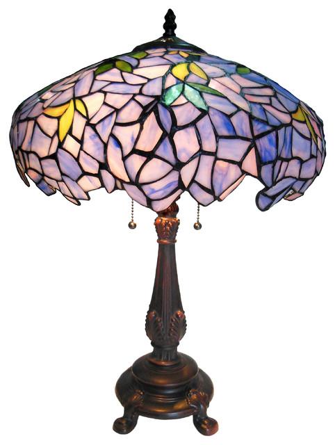 Chloe Lighting 2-Light Wisteria Table Lamp