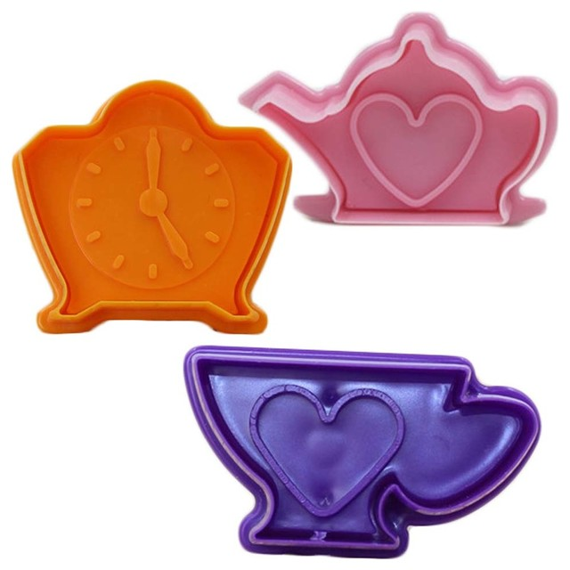 3 Piece Cartoon Biscuits Mold Cake Cookies Cutters 14.