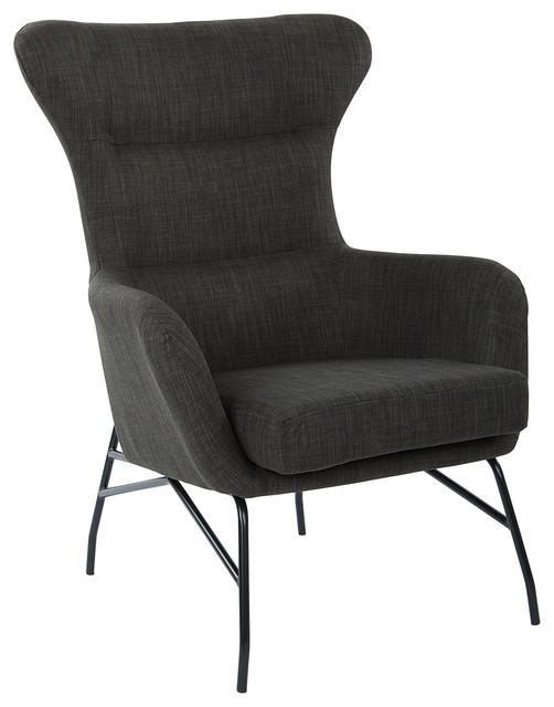 Enzo Chair, Asphalt.