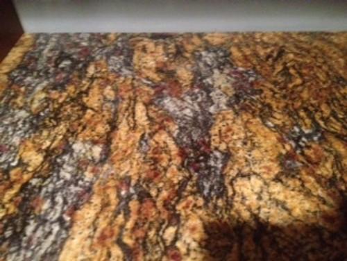 Cinderella Gold granite needs backsplash
