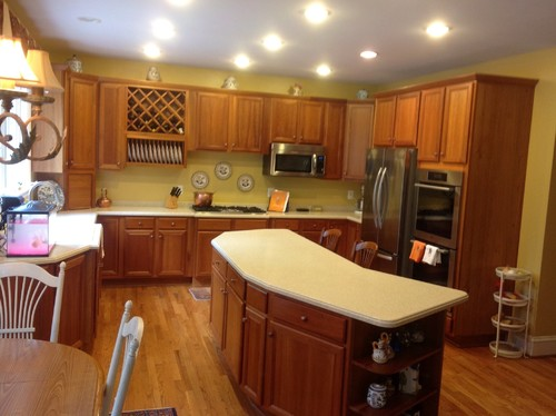I love white cabinets. Should I paint these white?