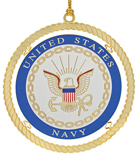 navy ornament contemporary christmas ornaments by beacon design by chemart