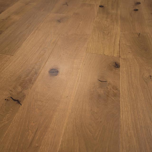 Attractive Rustic Engineered Hardwood Flooring Part - 13: Hurst Hardwoods - French Oak Prefinished Engineered Wood Floor, Utah, Wide  Plank 7 1
