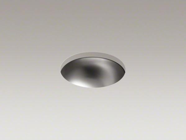 kohler bolero r round drop in undermount bathroom sink