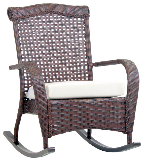 Martinique Rocker Outdoor Rocking Chairs by South Sea Outdoor Living
