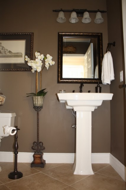 Powder Bath traditional-powder-room