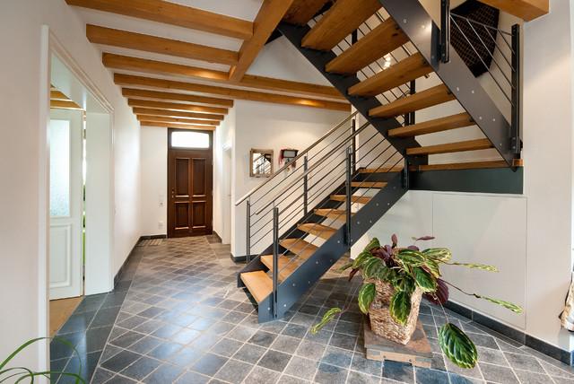 Moderne Fachwerkhäuser moderne treppe im fachwerkhaus köln ßen innenausbau