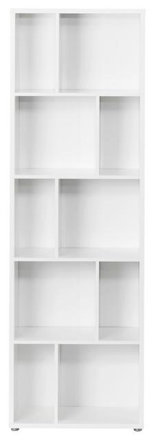 """Twist 75"""" Tall Bookcase."""