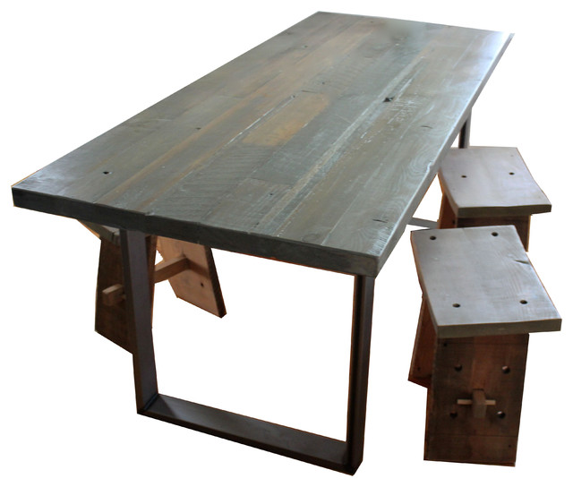 Best Industrial Dining Sets by Ross Alan Reclaimed