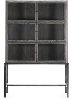 Autumn-Elle Design Sterling Cabinet Black Drifted Oak Z454696