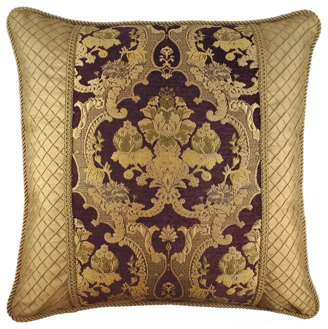 Shop Houzz Pacific Coast Home Furnishings, Inc. Austin Horn Classics Elizabeth Euro Pillow ...