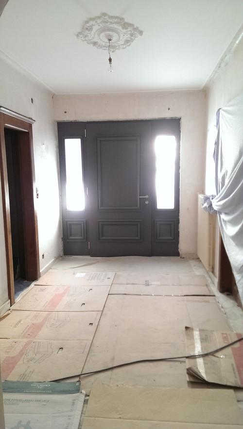 Problème déco de l\'entrée d\'une maison ancienne rénovée