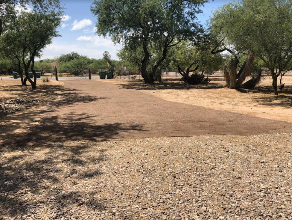 Desert Driveway Installation