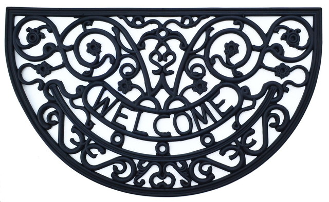 Rosemary Welcome Rubber Mat.
