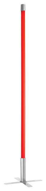 Dainostix Blue 36w Indoor Fluorescent Light Stick, Red, Silver.