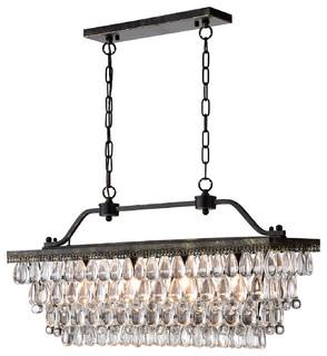 Monika antique bronze chandelier contemporary chandeliers by monika antique bronze chandelier contemporary chandeliers by edvivi lighting aloadofball Images
