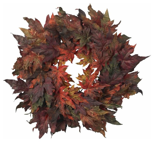 Maple Leaf Wreath.