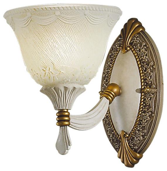 Vienna Rose Up Wall Lamp, Single