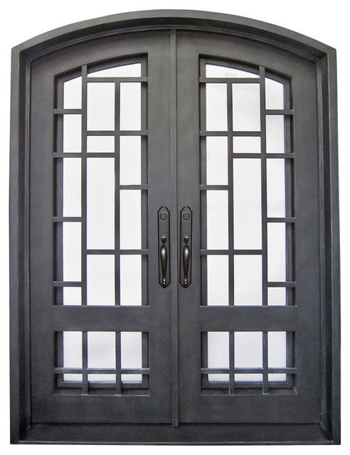 Brooklyn Entry Door 72x96 Transitional Front Doors By Iron