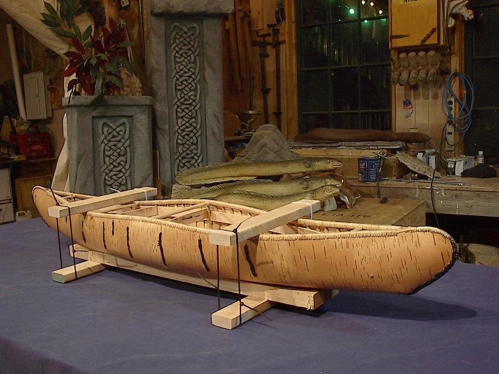 Birch Bark Canoes