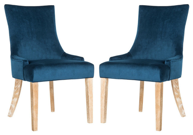 Lester Dining Chair, Set Of 2, Navy.