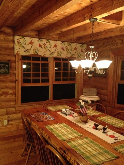 wood flooring advice for log home