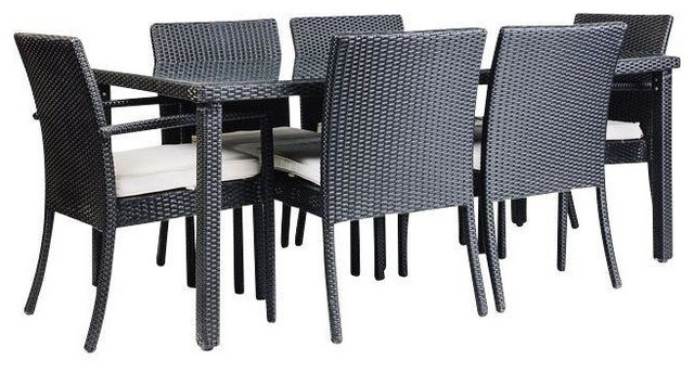 Charmant Consigned Modani Outdoor Coronado Dining Set