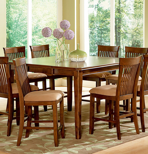 Counter Height Table Uk : ... Montreal Counter Height Table w/ Leaf contemporary-dining-tables