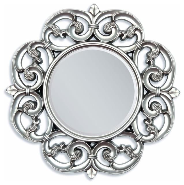 Accent Mirror, Silver.