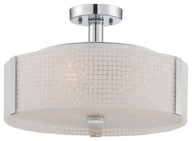 lite source ls 5913 3 light semi flush ceiling fixture