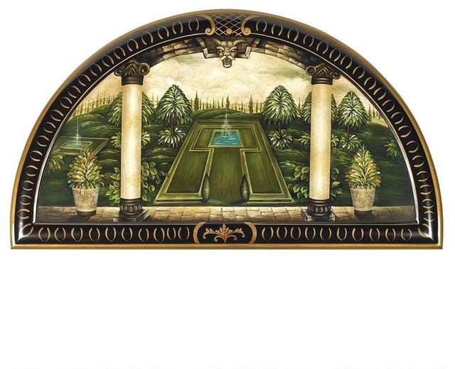 Design toscano 36 w classic italian home garden wall decor wall accents houzz - Decoration italien classic ...