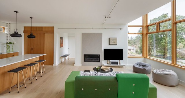 Houzz Tour: A Flexible Modern Home for a Young Family