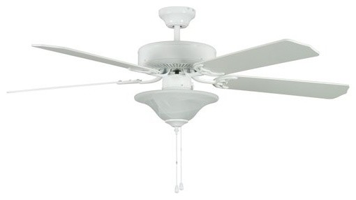 Heritage Square Energy Star 52 Indoor Ceiling Fan W/ Light Kit, Downrod, Blades.