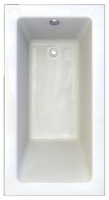 "American Standard Bathtub Studio, White, 36.31""x64.88""x26.25""."