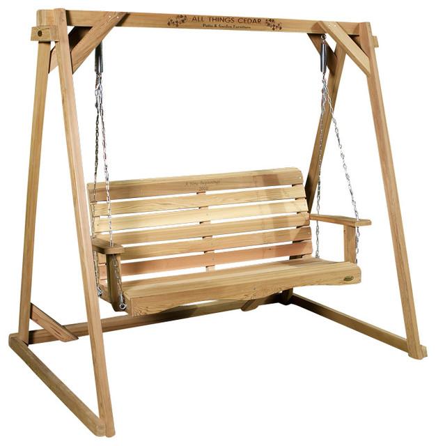 8-ft Swing A-Frame & 5-ft Porch Swing Set