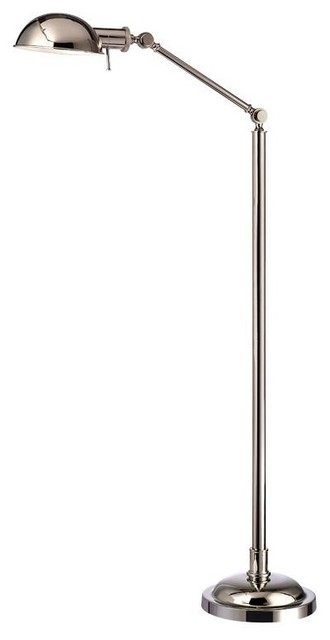 Ascent Polished Stainless Steel Floor Lamp