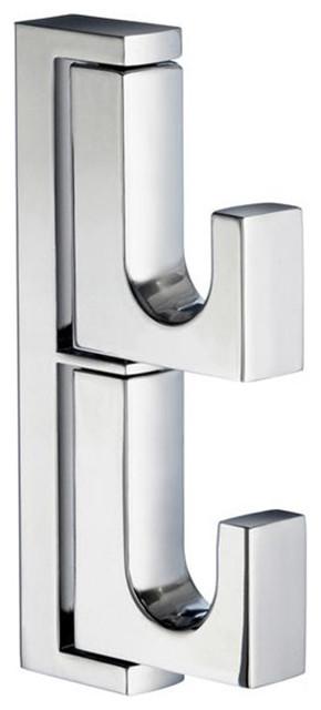 San Francisco Towel Ring, Satin Nickel