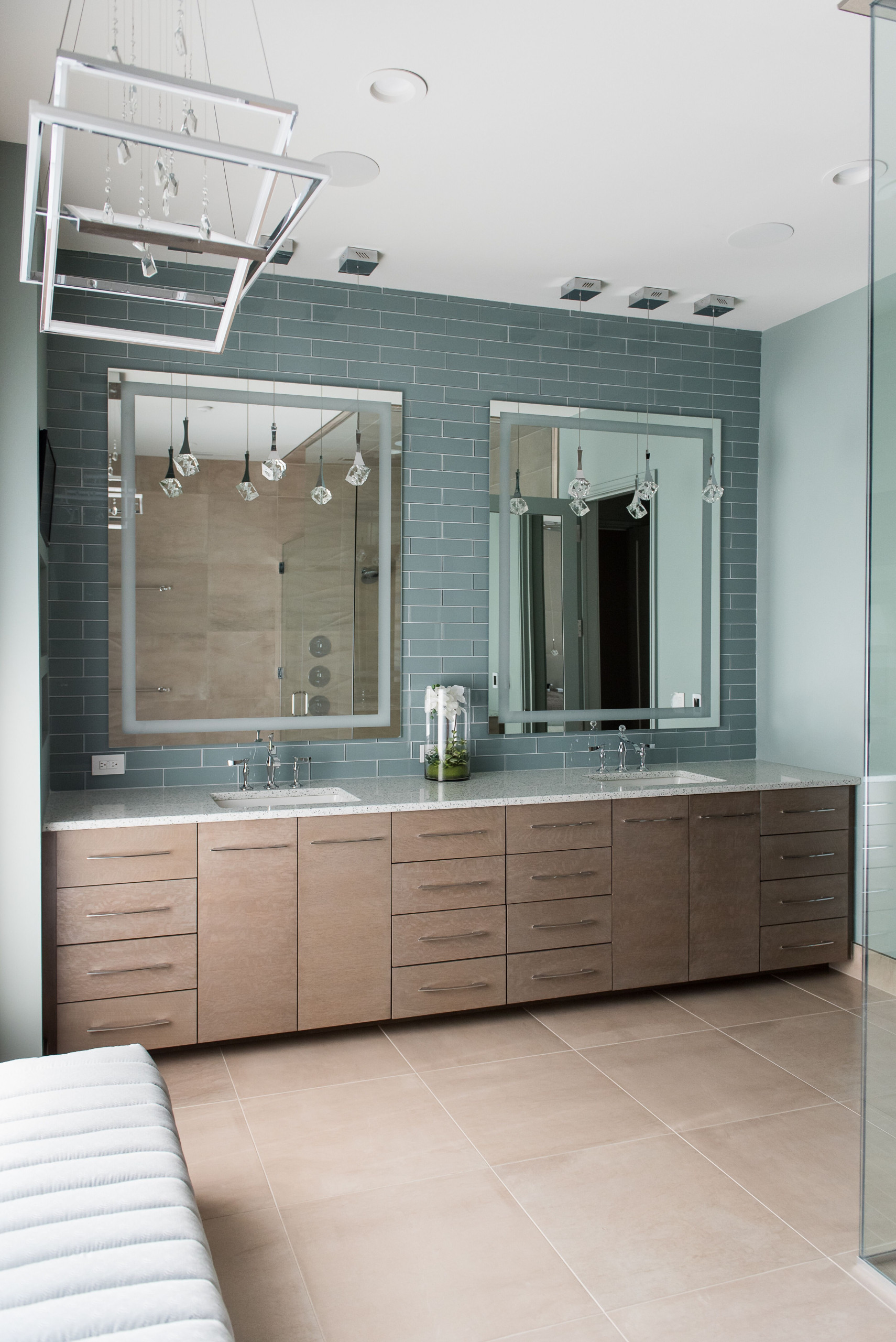 Modern New Construction by Christopher Scott Homes