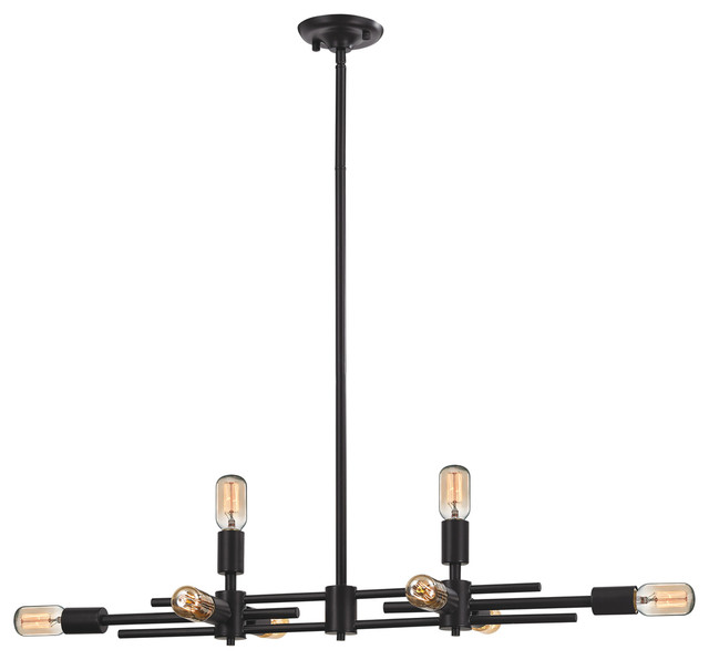 4 4 Parallax Light Fixture Oil Rubbed Bronze Kitchen Island Lighting By