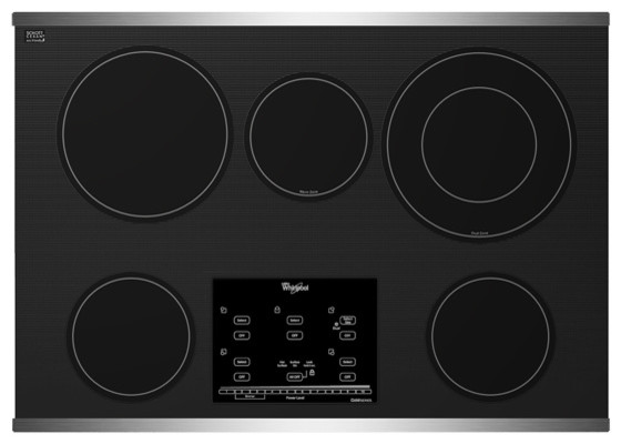 Whirlpool Electric Glass Cooktop ~ Whirlpool gold series quot electric ceramic glass cooktop