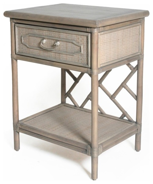 Chippendale Nightstand beach-style-nightstands-and-bedside-tables