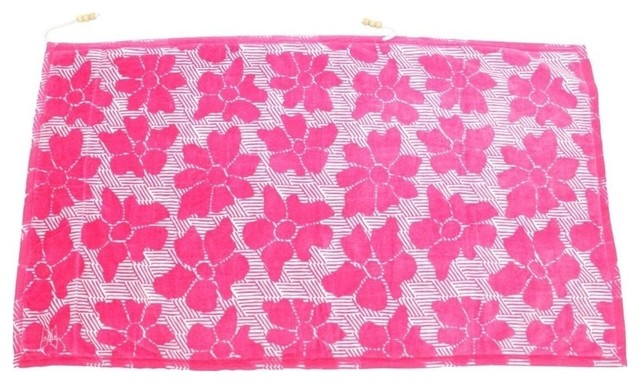 Casmus Beach Towel, Pink