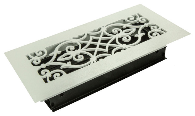 "Corinthian Solid Steel Supply Vent, Oil Rubbed Bronze, 10""x4"" Supply."