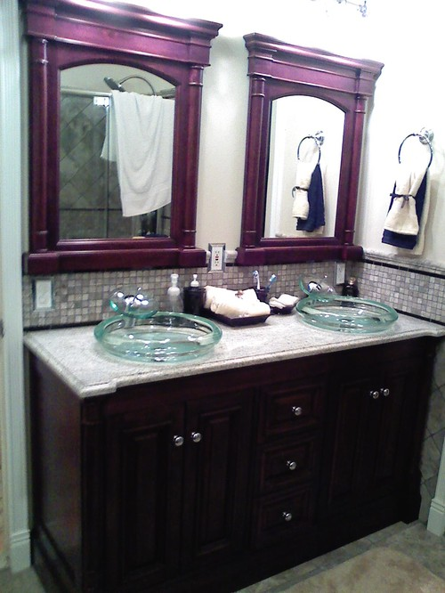 Bathroom Sinks Drop In Vs Undermount vessel or undermount sink?