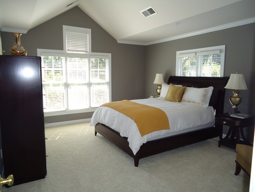 Elegant Master Bedroom Window Treatments