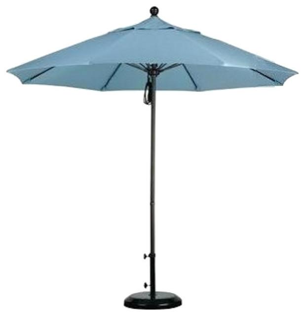 California Umbrella Alto908170, F55 Fiberglass Market Umbrella Pulley, Lemon.