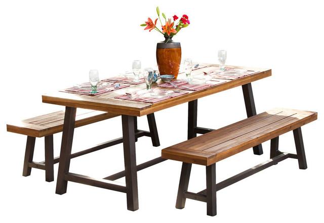 GDF Studio Bowman Picnic Table Set