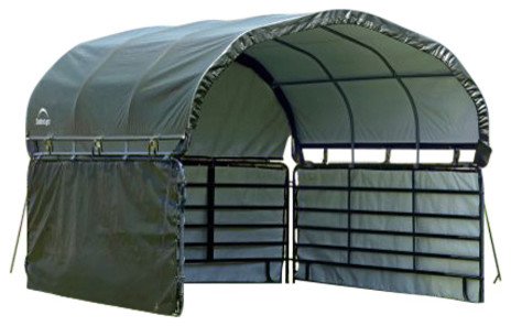 Ag Shelter Series 51482 Enclosure Kit For Corral Shelter.